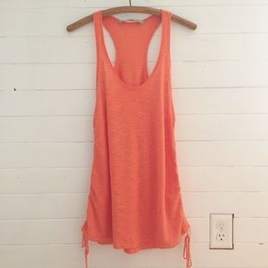 Athleta Vesta Sweater Tank Coral L